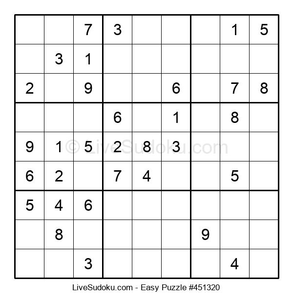 Beginners Puzzle #451320