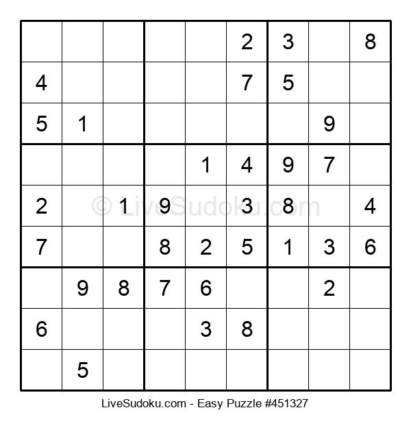 Beginners Puzzle #451327