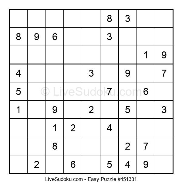 Beginners Puzzle #451331