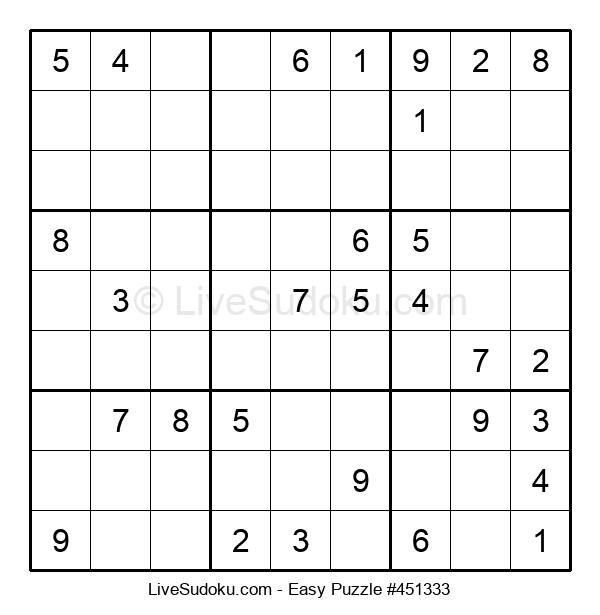 Beginners Puzzle #451333