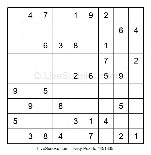 Beginners Puzzle #451335