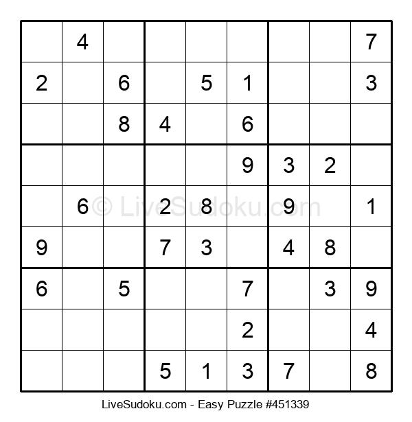 Beginners Puzzle #451339