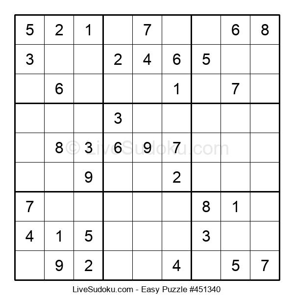 Beginners Puzzle #451340