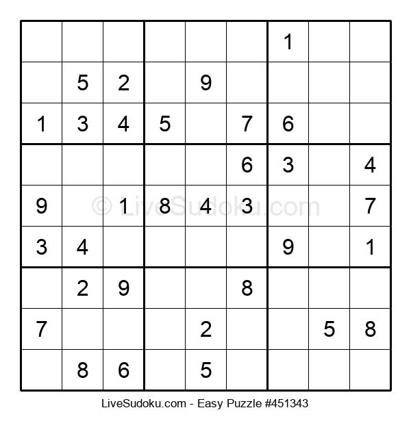 Beginners Puzzle #451343