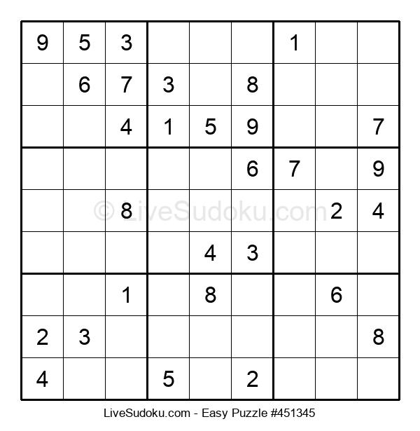 Beginners Puzzle #451345