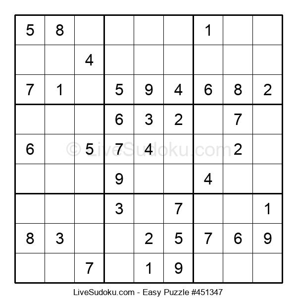 Beginners Puzzle #451347