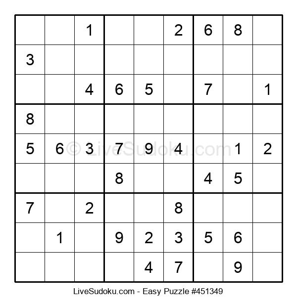 Beginners Puzzle #451349