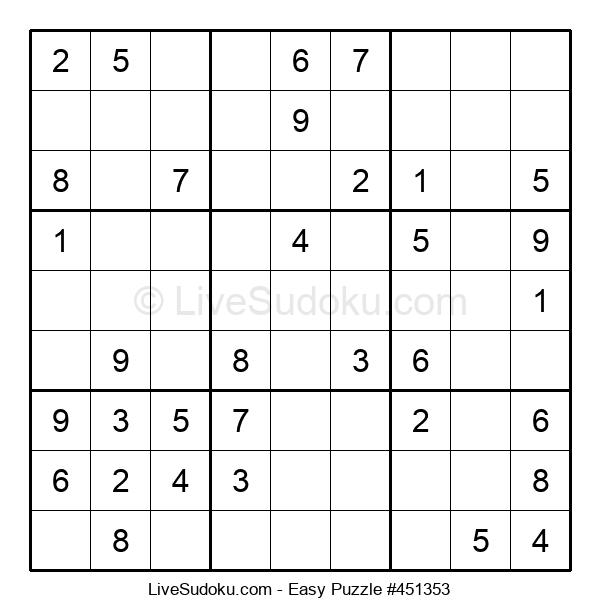 Beginners Puzzle #451353