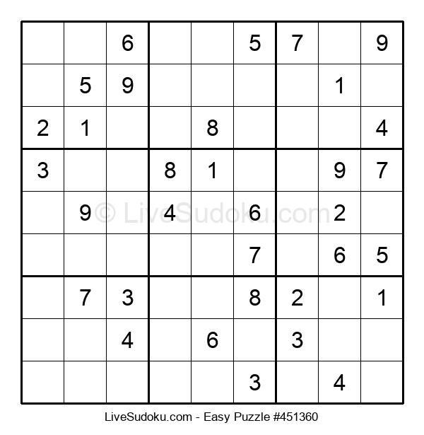 Beginners Puzzle #451360