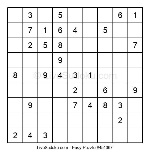 Beginners Puzzle #451367