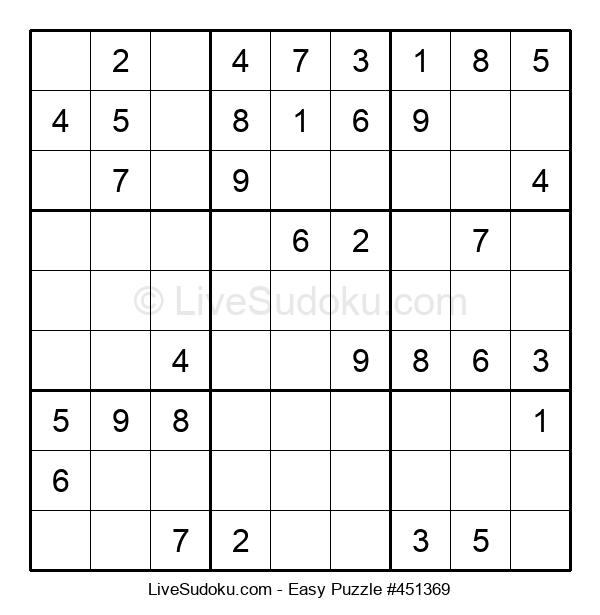Beginners Puzzle #451369