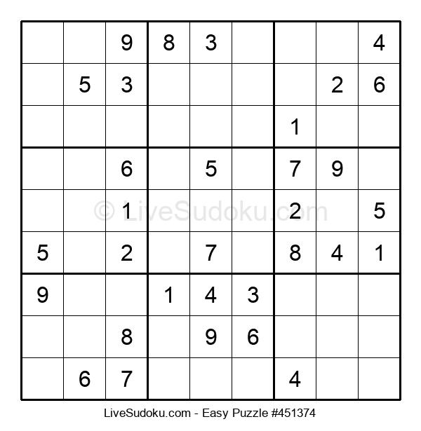 Beginners Puzzle #451374