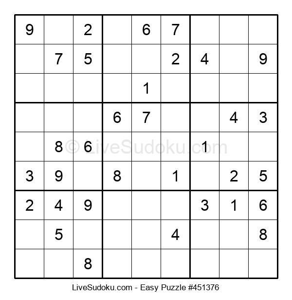 Beginners Puzzle #451376