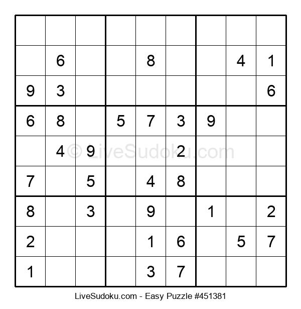 Beginners Puzzle #451381