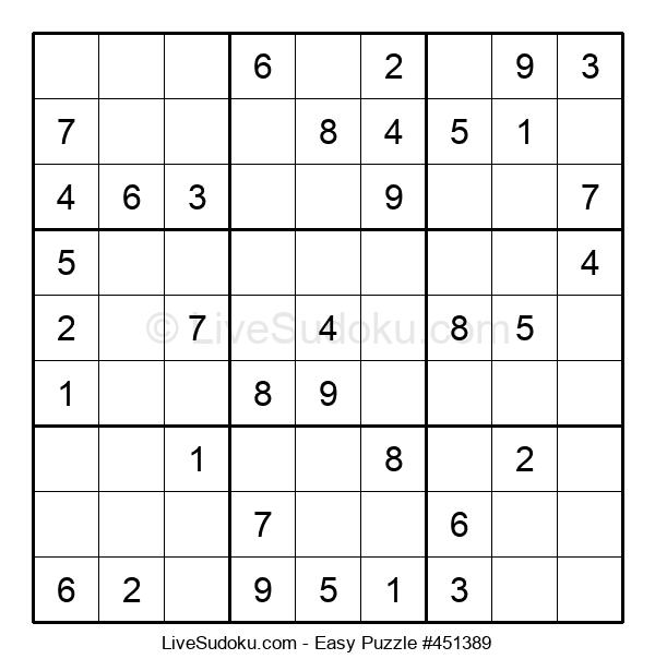 Beginners Puzzle #451389