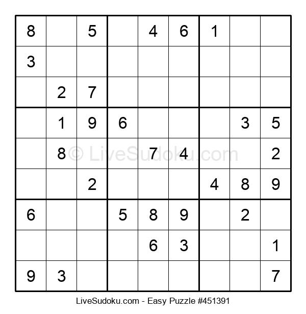 Beginners Puzzle #451391