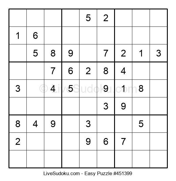 Beginners Puzzle #451399