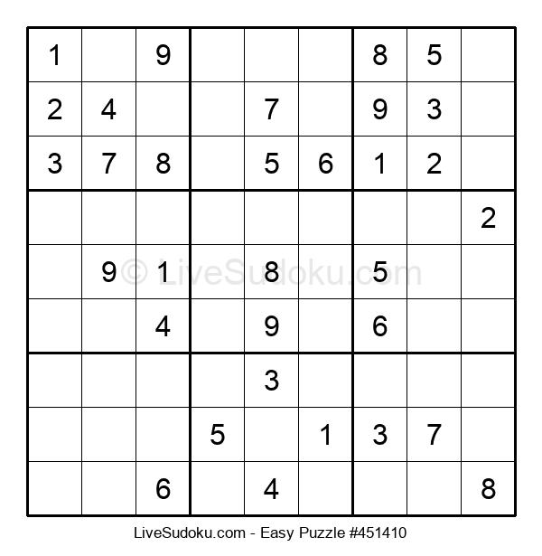 Beginners Puzzle #451410