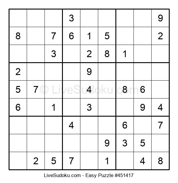 Beginners Puzzle #451417