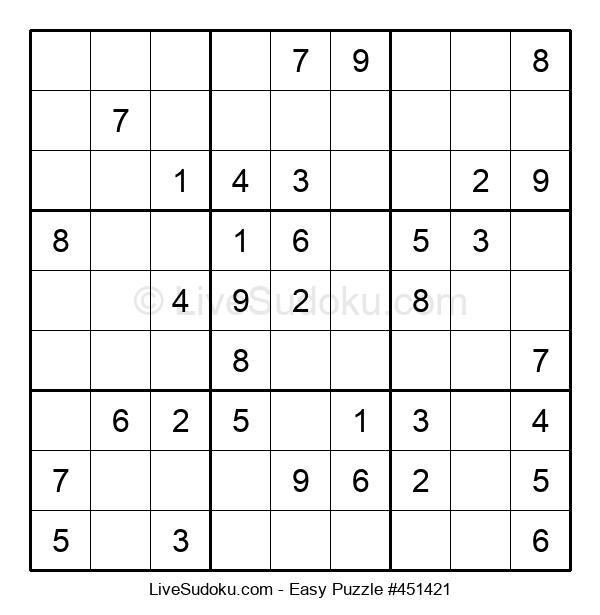 Beginners Puzzle #451421