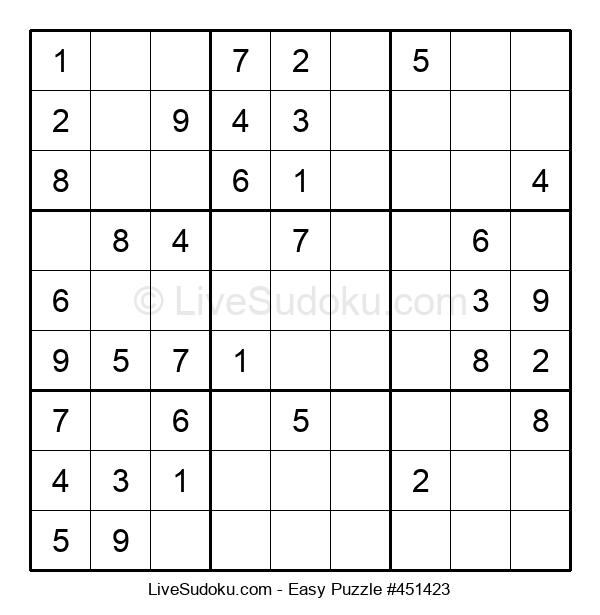 Beginners Puzzle #451423