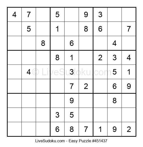 Beginners Puzzle #451437