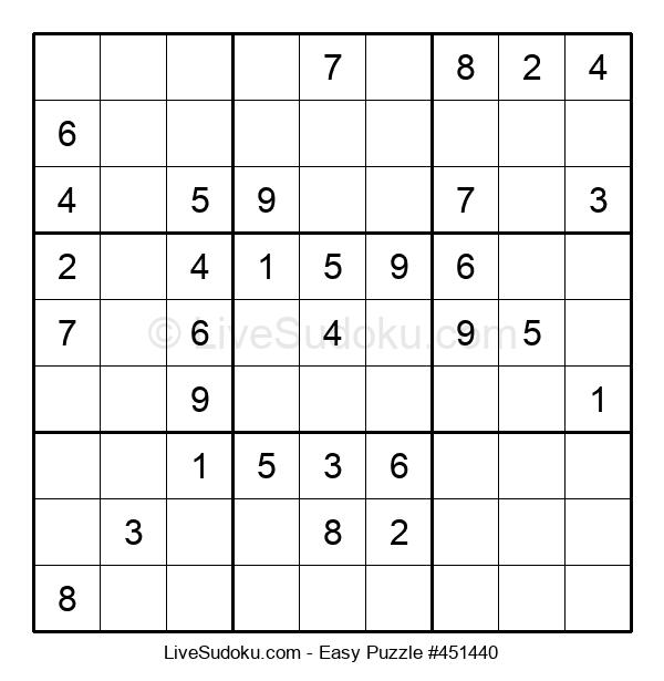 Beginners Puzzle #451440