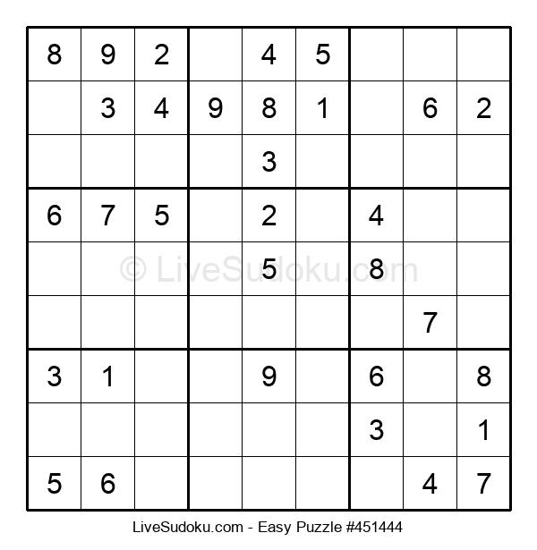 Beginners Puzzle #451444