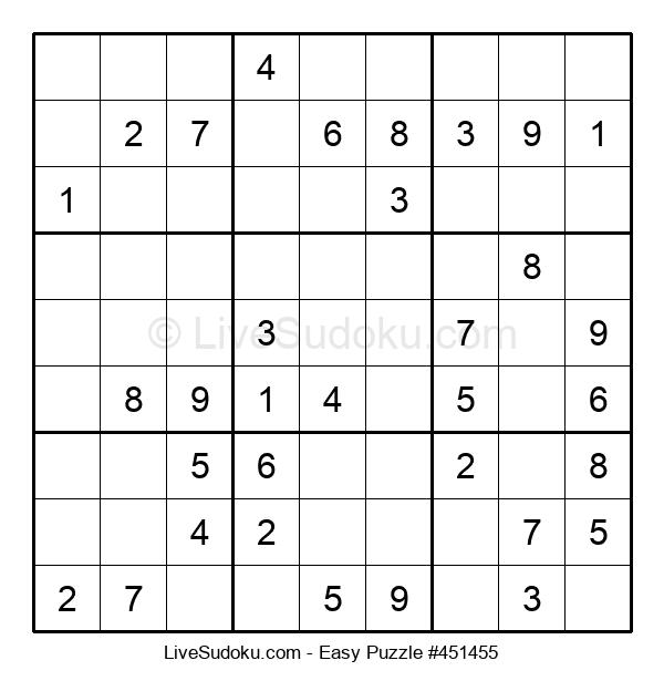 Beginners Puzzle #451455