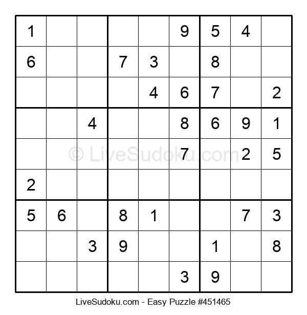 Beginners Puzzle #451465
