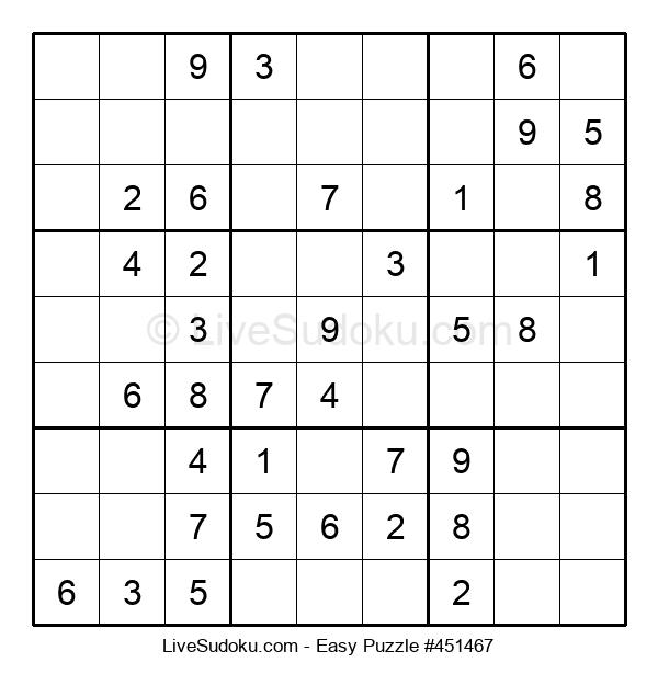 Beginners Puzzle #451467