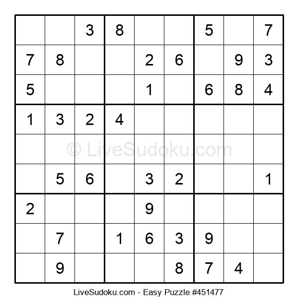 Beginners Puzzle #451477