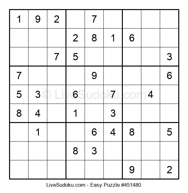 Beginners Puzzle #451480