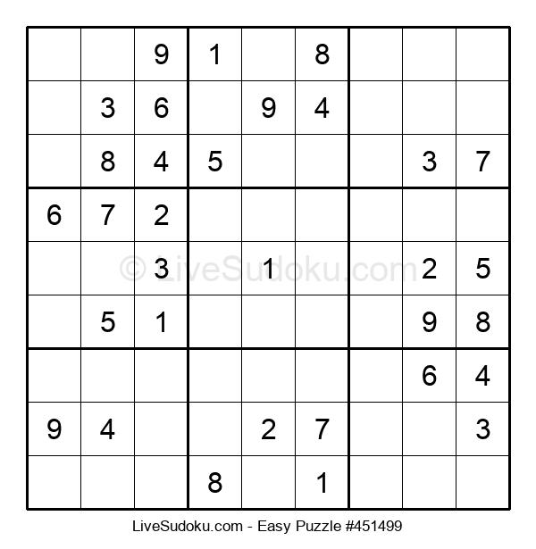 Beginners Puzzle #451499