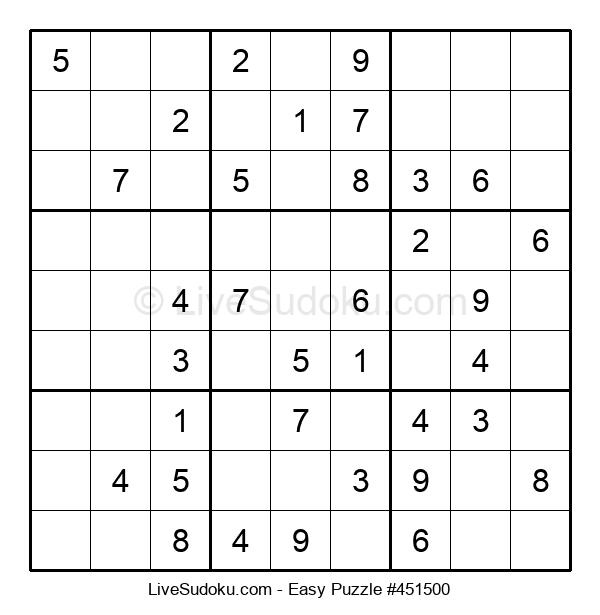 Beginners Puzzle #451500