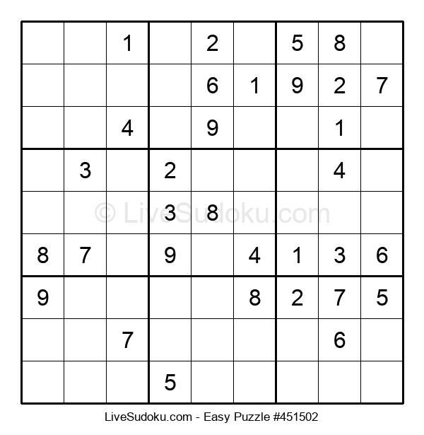 Beginners Puzzle #451502