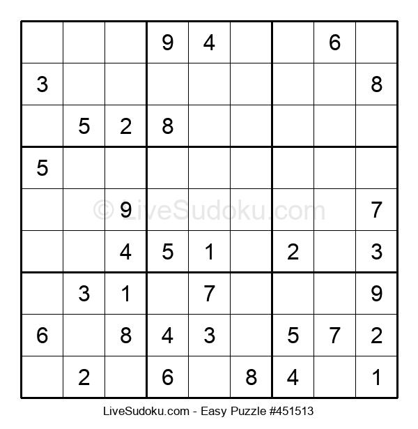 Beginners Puzzle #451513