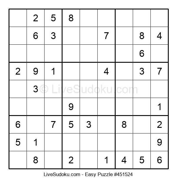 Beginners Puzzle #451524