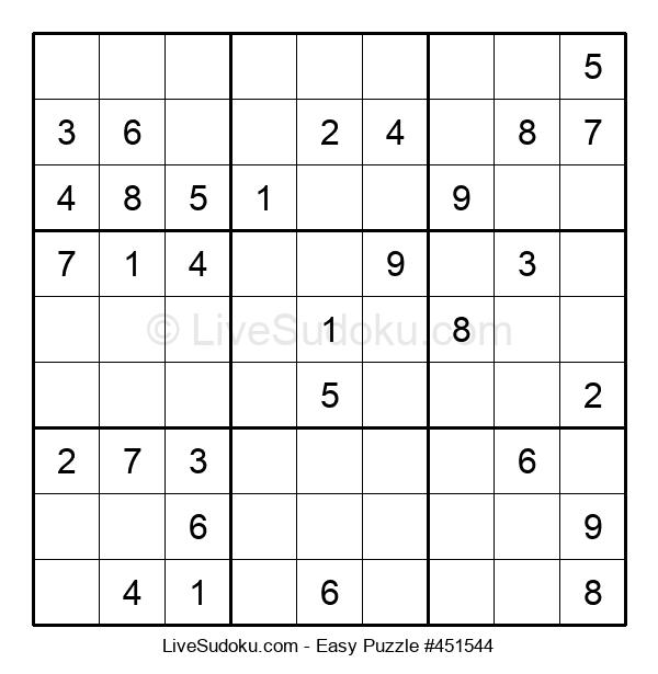 Beginners Puzzle #451544