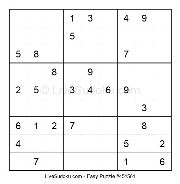 Beginners Puzzle #451561