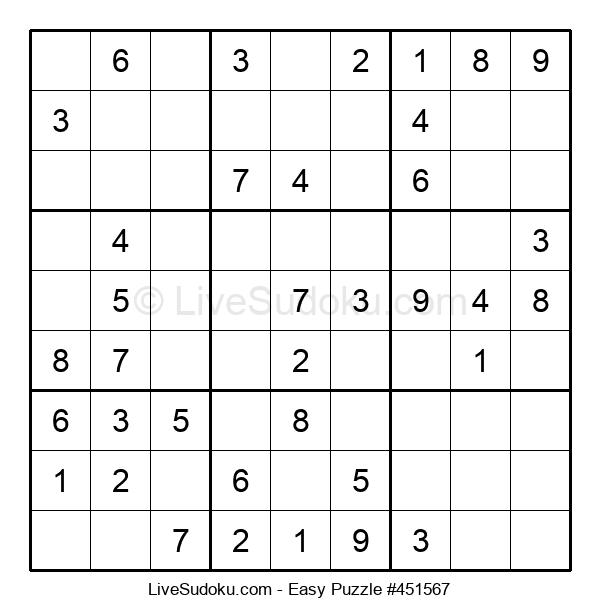 Beginners Puzzle #451567