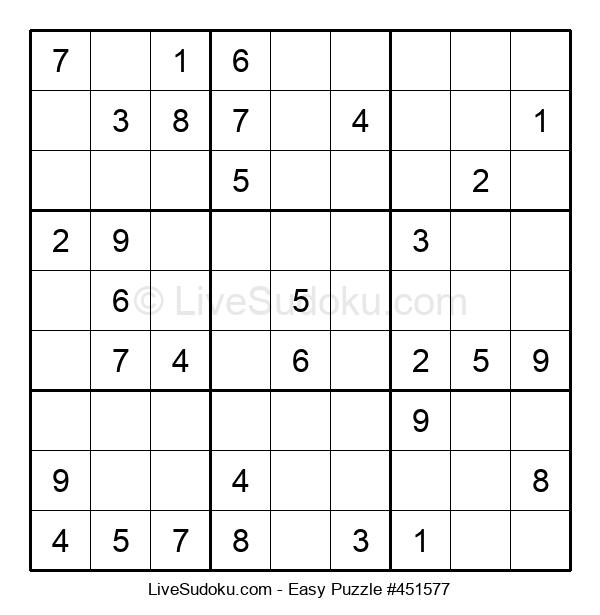 Beginners Puzzle #451577