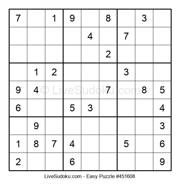 Beginners Puzzle #451608