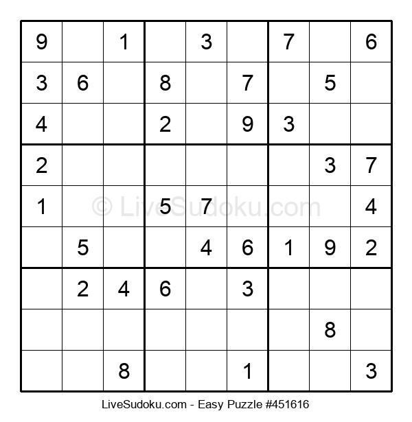 Beginners Puzzle #451616