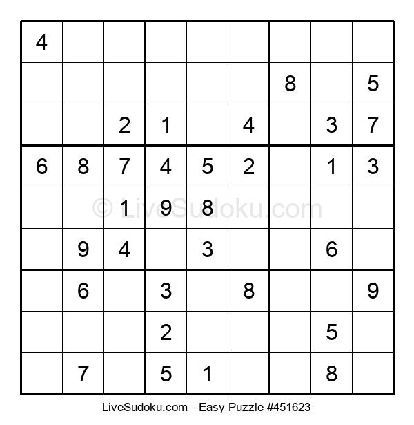 Beginners Puzzle #451623