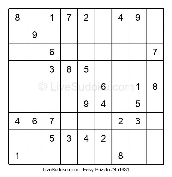 Beginners Puzzle #451631