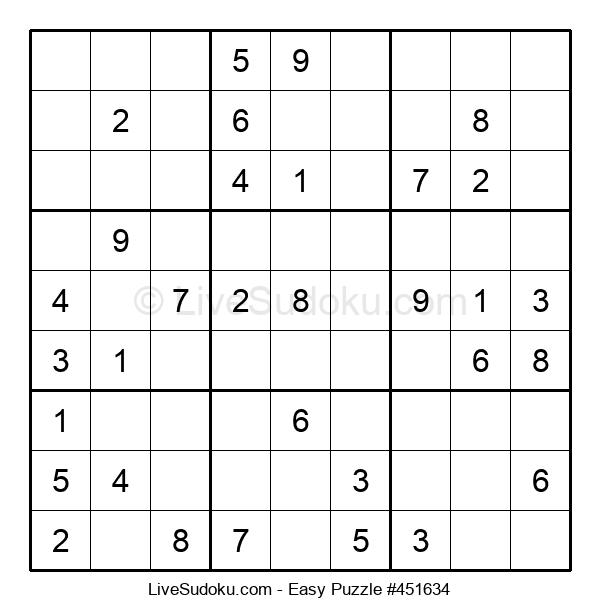 Beginners Puzzle #451634