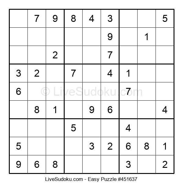 Beginners Puzzle #451637