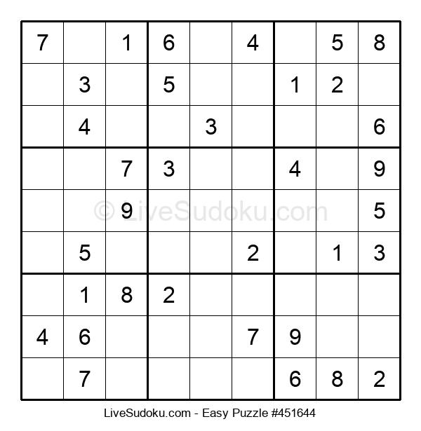 Beginners Puzzle #451644
