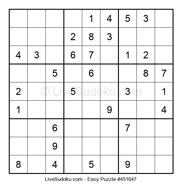 Beginners Puzzle #451647